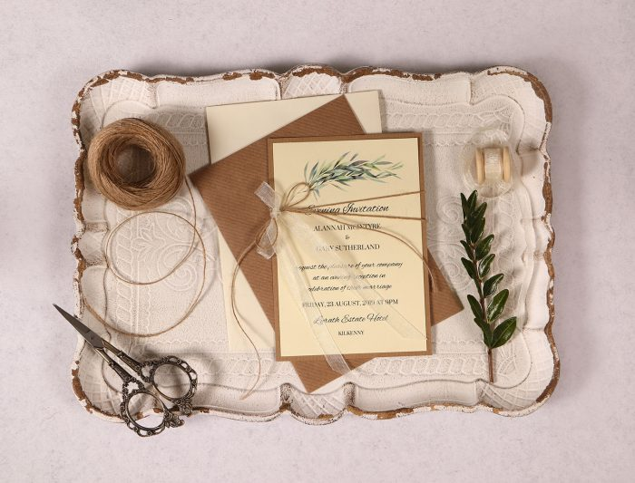Evening Invitation Ivory Alannah