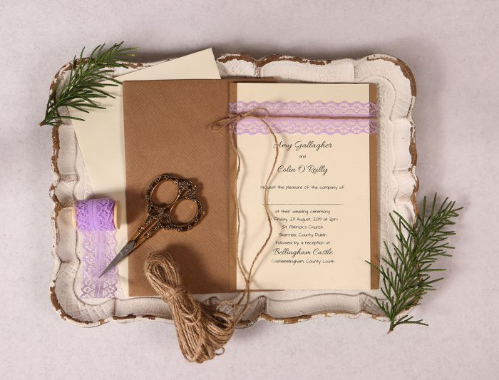 Lavender Day Invite Amy