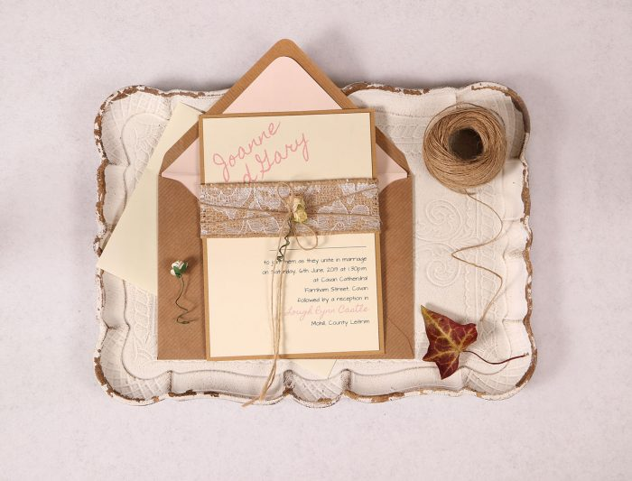 Lacey Day Invitation Pink