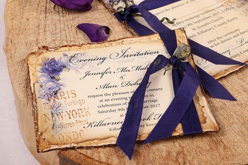 Vintage Violet Evening