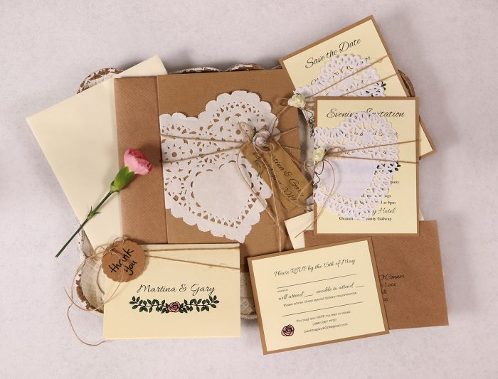 Daisy Wedding Stationery Suite