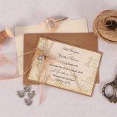 Vintage Desstination Save the Date - Copper