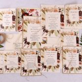 Wild Rose Wedding Stationery