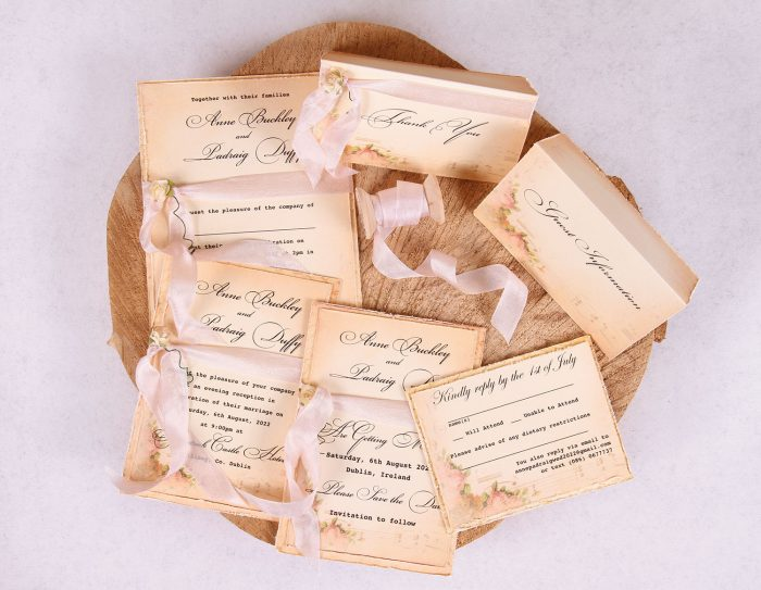 Elizabeth Vintage Wedding Stationery Set