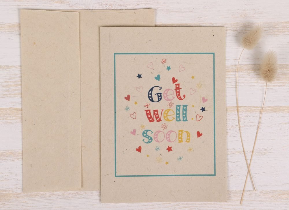 Get Well Soon Card - Front