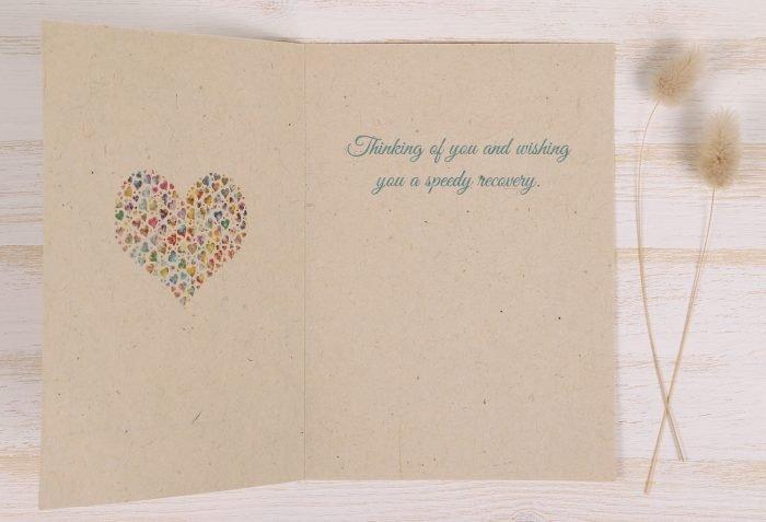 Get Well Soon Card - Inside