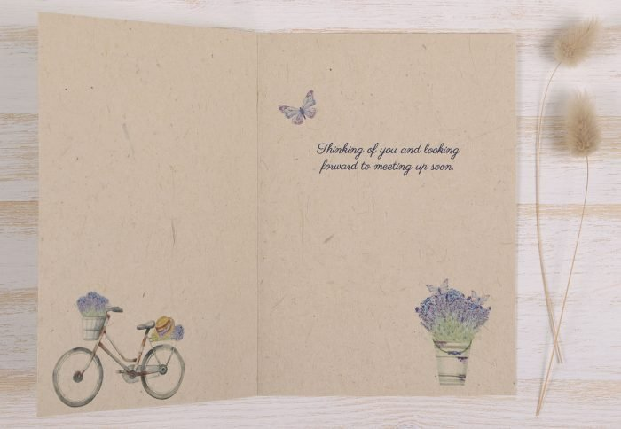 Plantable Miss You Card - Inside