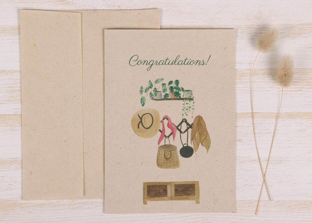 New Home Card - Front