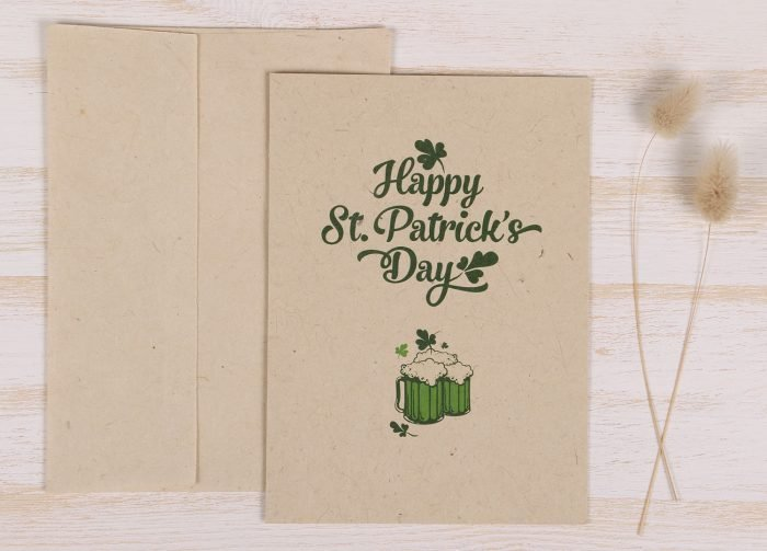 St. Patrick's Day Card - Front
