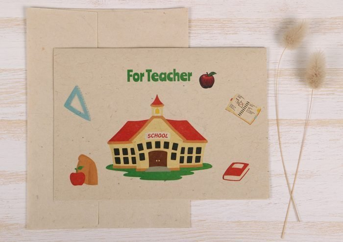 Thank You Card Teacher Front