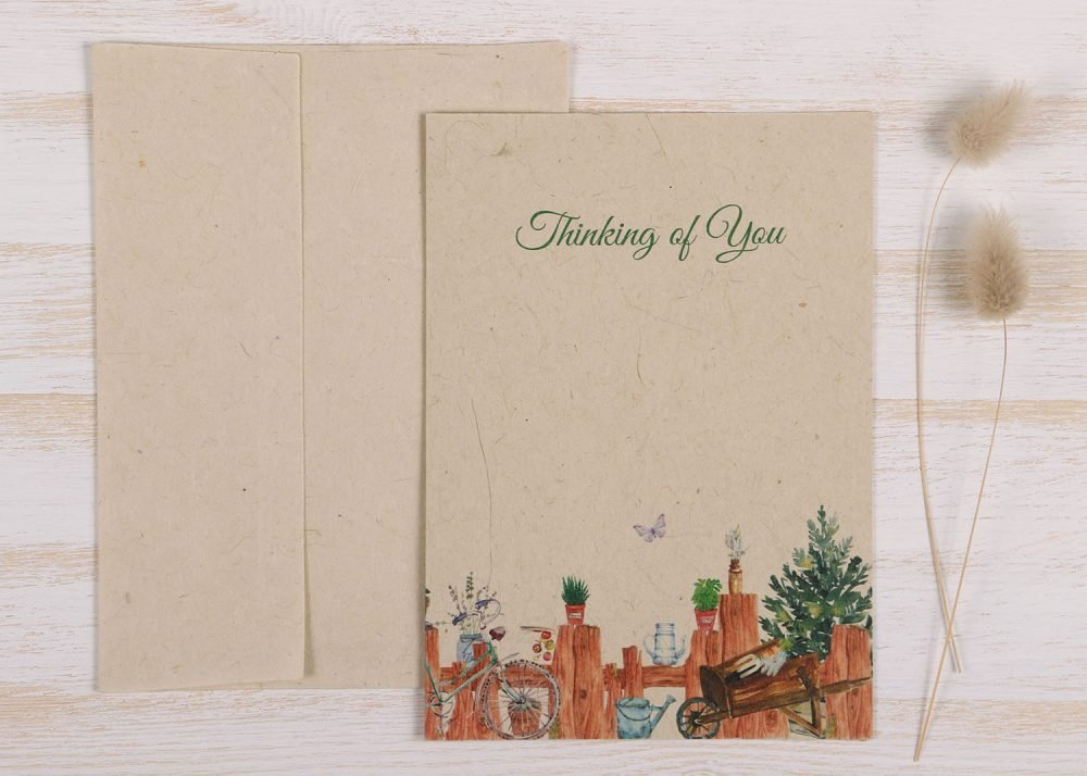 Thinking of You Card Gardener - Front