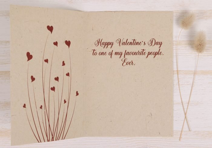 Valentines Day Card - Inside