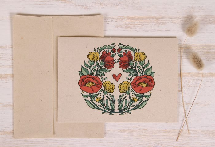 Plantable Greeting Card - Any Occasion - Art Deco - Front