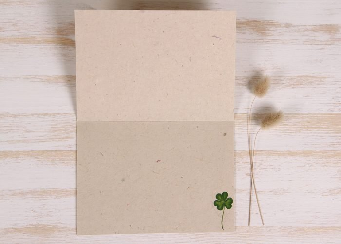 Plantable St. Patrick's Day Card - Luck- Inside