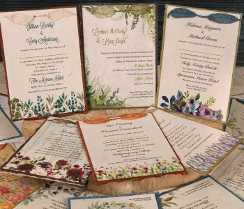 Dual Layer Plantable Invitations