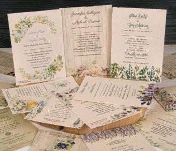 Plantable 5 x 7 Invitations