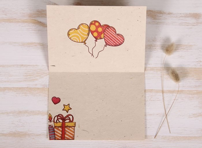 Seeded Plantable 30th Birthday Card - Celebration - Inside