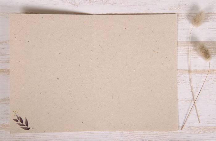 Seeded Plantable 60th Birthday Card - Botanical - Inside